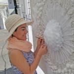 Gina Duque studio tour artist image